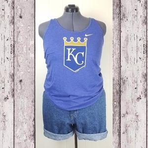 NIKE   MLB KC Royals Baseball Tank Top